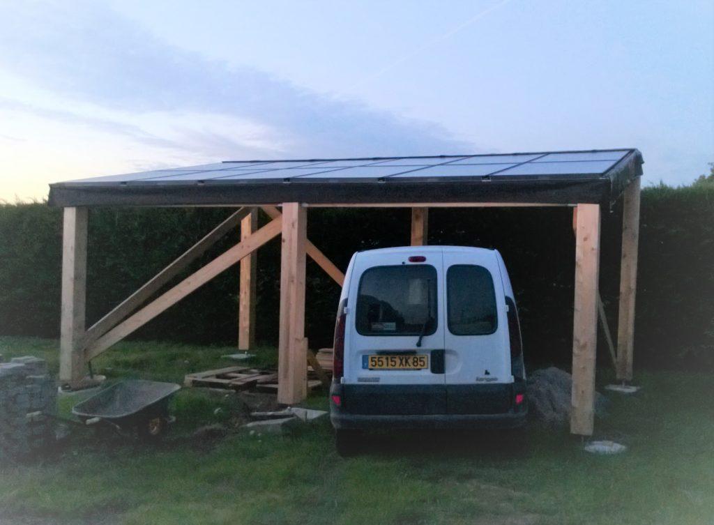 garage photovoltaïque